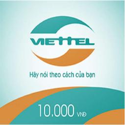 Thẻ cào Viettel mệnh giá 10.000