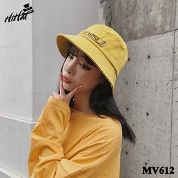 Nón bucket NO HAT, NO STYLE cá tính - màu vàng MV612v