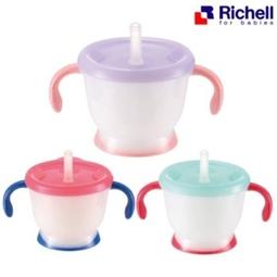 Cốc tập uống Richell 3 giai đoạn