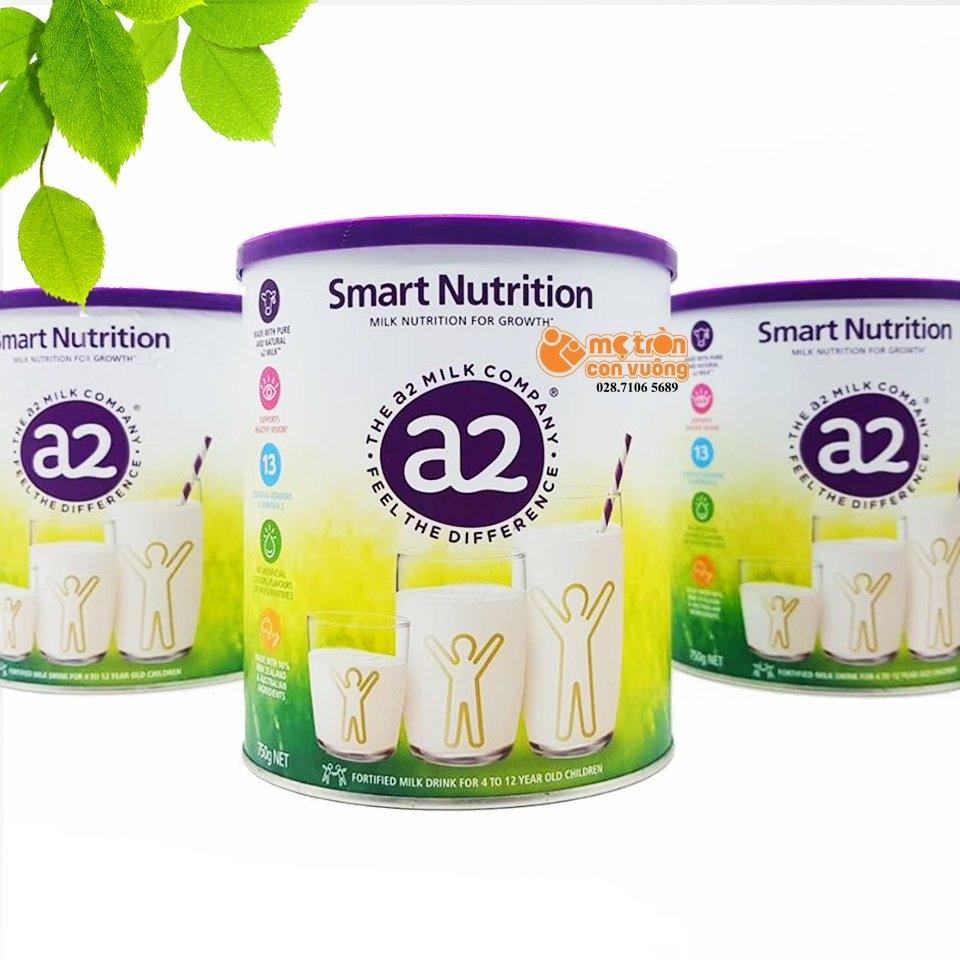 SỮA BỘT A2 SMART NUTRITION 750GR