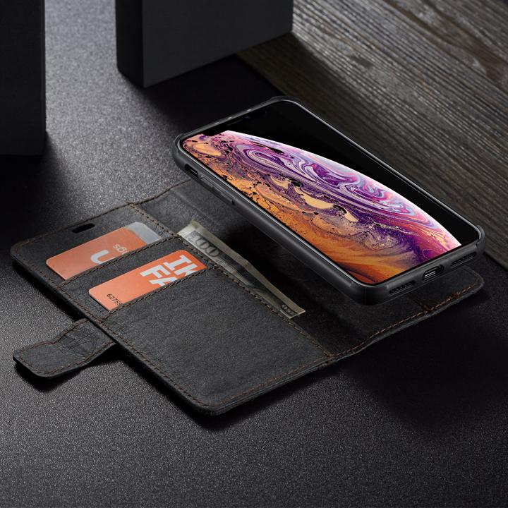 Bao da Iphone 6 Plus/ 6s Plus/ 7 Plus/ 7s Plus/ 8 Plus / Xs/ Xs Max 2/ Ip 11 trong 1 kiêm ví tiền đựng thẻ, card rất tiện lợi