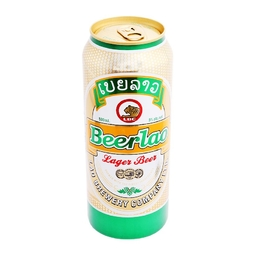 Bia Lào Lager 5% lon 500ml