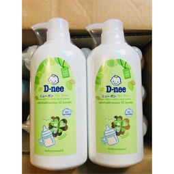 Nước rửa bình sữa Dnee chai 620ml
