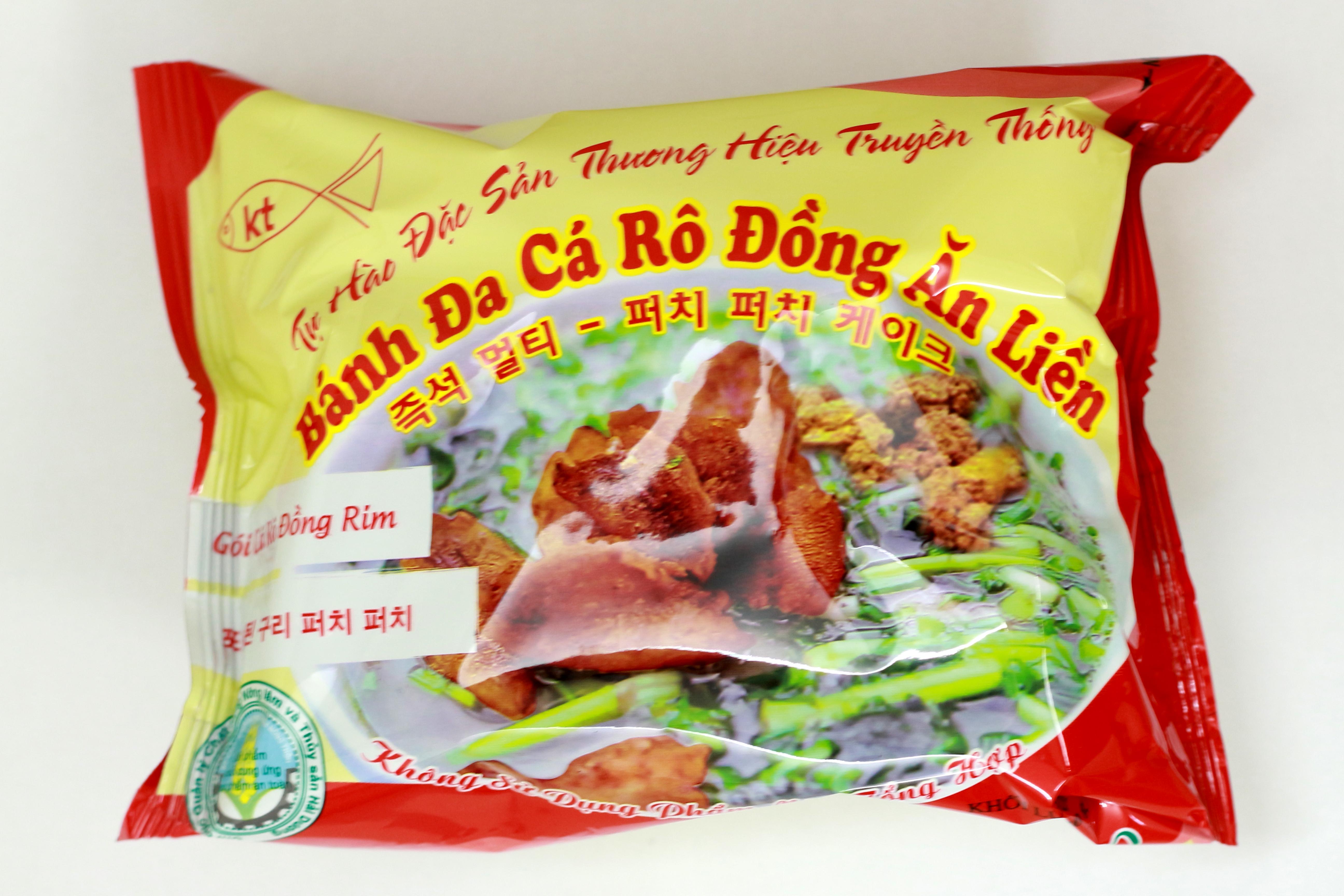 Thùng 20 gói Bánh đa cá rô ăn liền Khánh Thọ