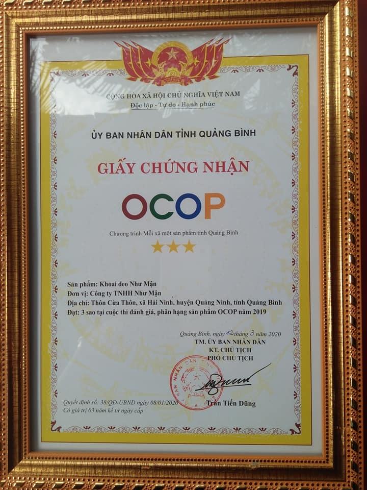 Khoai Gieo Hải Ninh Như Mận 500gr_ Đặc sản OCOP QUảng Bình
