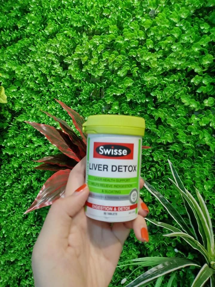 Giải độc gan Liver Detox Swisse 120 viên