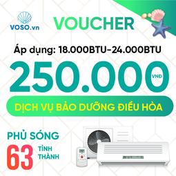 Voucher Bảo dưỡng điều hòa 18000BTU- 24000BTU