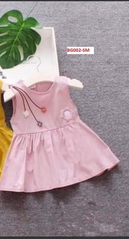 Bộ váy xòe bé gái - BG002