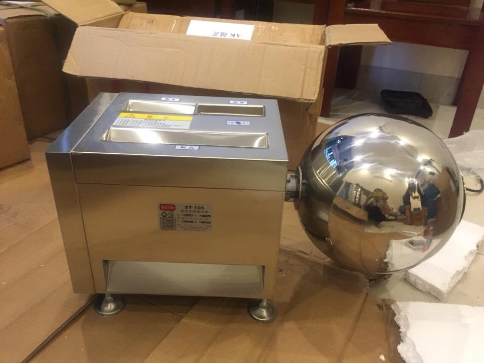 Máy làm viên hoàn mềm, máy vo viên tròn thuốc đông y