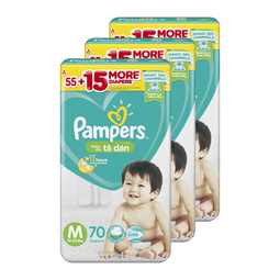 Combo 3 Tã Dán Pampers Philippines M70
