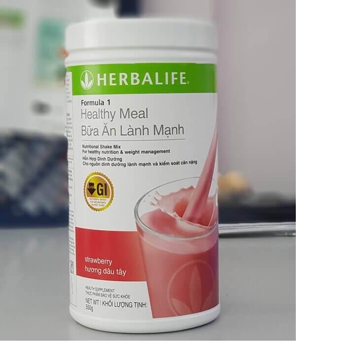 Herbalife F1 - Bữa Ăn Lành Mạnh - HƯƠNG DÂU
