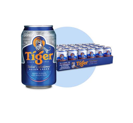 BEER TIGER XANH 24 LON 330ML