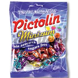 Kẹo pictolin hoa quả hỗn hợp không đường 65g