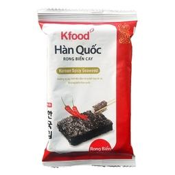 2 Rong Biển K-Food Cay Hàn Quốc 3G*6
