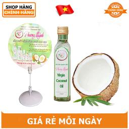 Dầu dừa nguyên chất Phương Huỳnh 250ml