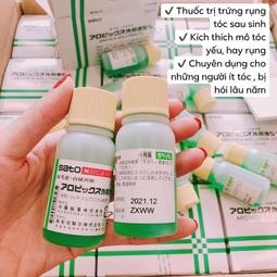 Thuốc Kích Thích Mọc Tóc SATO Kê Đơn Bệnh Viện Nhật Bản