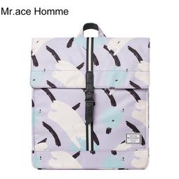 Balo Nữ Nắp Đậy 13inch Mr.ace Homme MR17C0912B01 / Tím vện