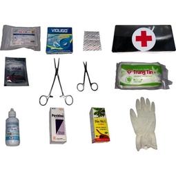 Hộp Cứu Thương 12 món có kèm hướng dẫn sơ cứu