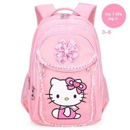 Balo Helo kitty cho bé gái lớp 1-3