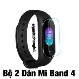 Dán Màn Hình Xiaomi Mi Band 4 ( Bộ 2 Dán)
