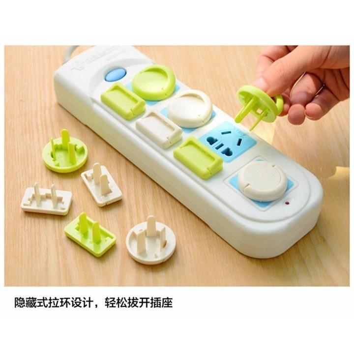 Set 6 nút bịt ổ điện bằng nhựa cao cấp siêu tiện lợi