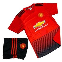 Bộ quần áo thể thao trẻ em cao cấp - Quần áo đá bóng Everest MU-Baby