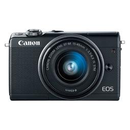 Máy ảnh Canon EOS M100 kit 15-45mm Đen (Hàng chính hãng, tặng kèm thẻ SD 16Gb và Túi)