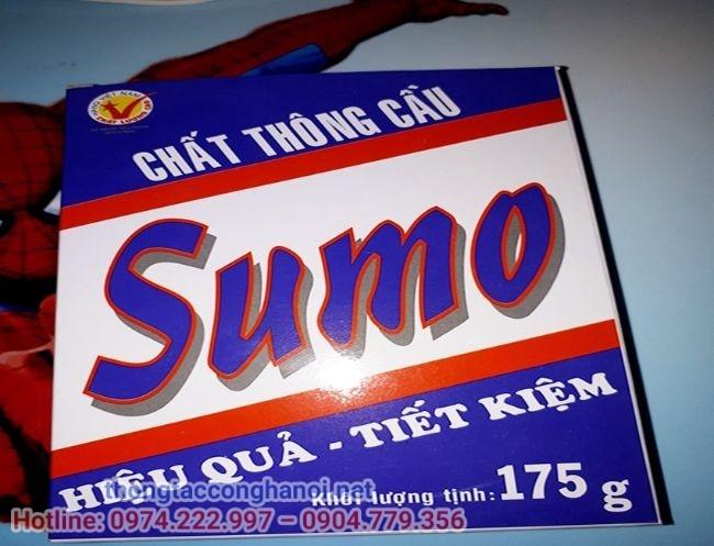 Combo 50 Hộp Bột Thông Cống SUMO