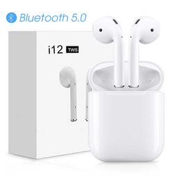 Tai nghe bluetooth không dây I12 cao cấp kết nối 5.0