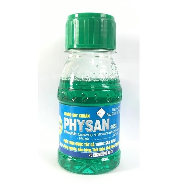 Thuốc sát khuẩn trị thối nhũn, vàng rụng lá Physan 20SL chai 100ml