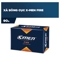 Xà bông cục X-men Fire 90g - Date mới nhất