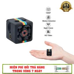 Camera Hành Trình Thể Thao Siêu Nhỏ SQ11 Full 1080 HD - Hỗ Trợ Hồng Ngoại