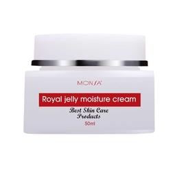 Kem Dưỡng Ẩm Tinh Chất Sữa Mật Ong Monsa Bee Wong Milk Efficient Moisturizing Cream 50g