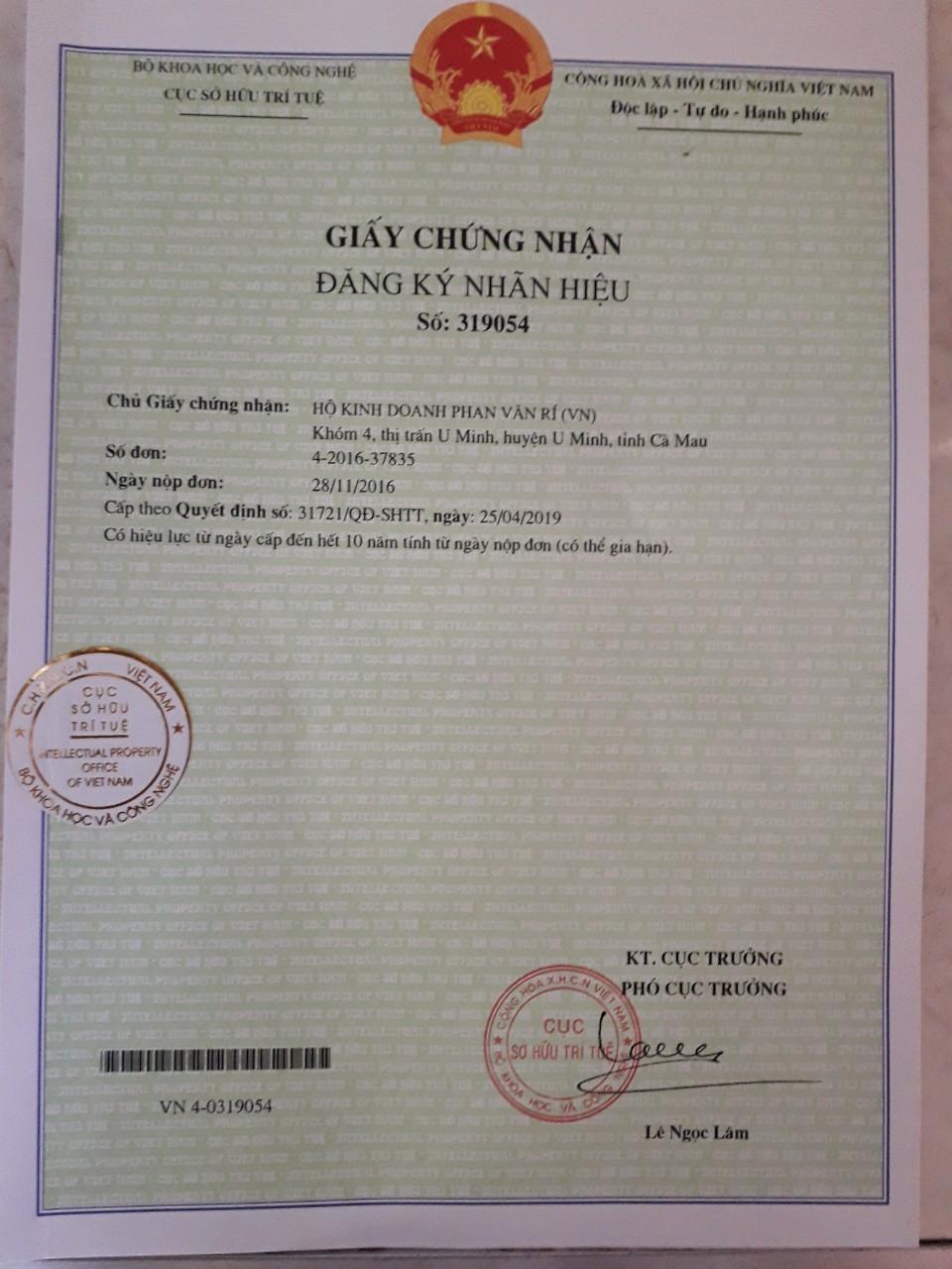 Đặc sản U Minh Mắm Ong Hai Ngò hộp 800gram