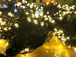 Đèn nháy 20m dây điện màu đen - Vàng Nắng - Thế Giới Đèn Nháy