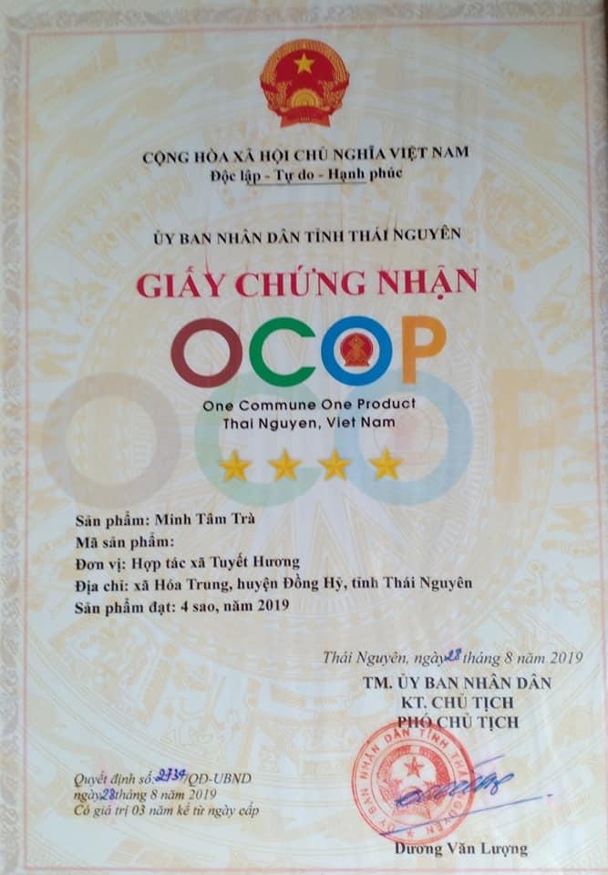 Chè Tuyết Hương - Minh Tâm trà