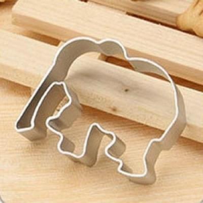 Khuôn nhấn bánh hình con voi
