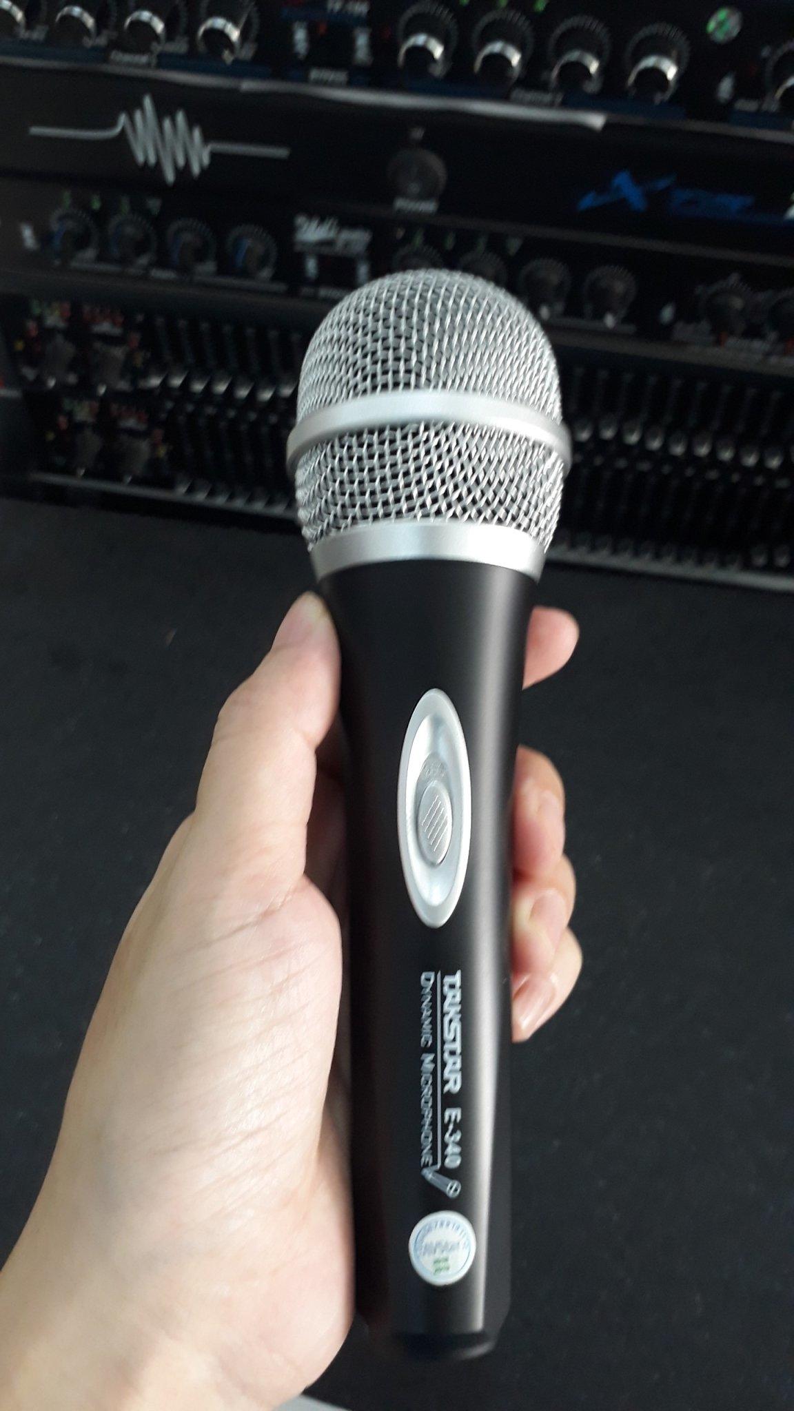 Micro karaoke có dây chính hãng Takstar E-340
