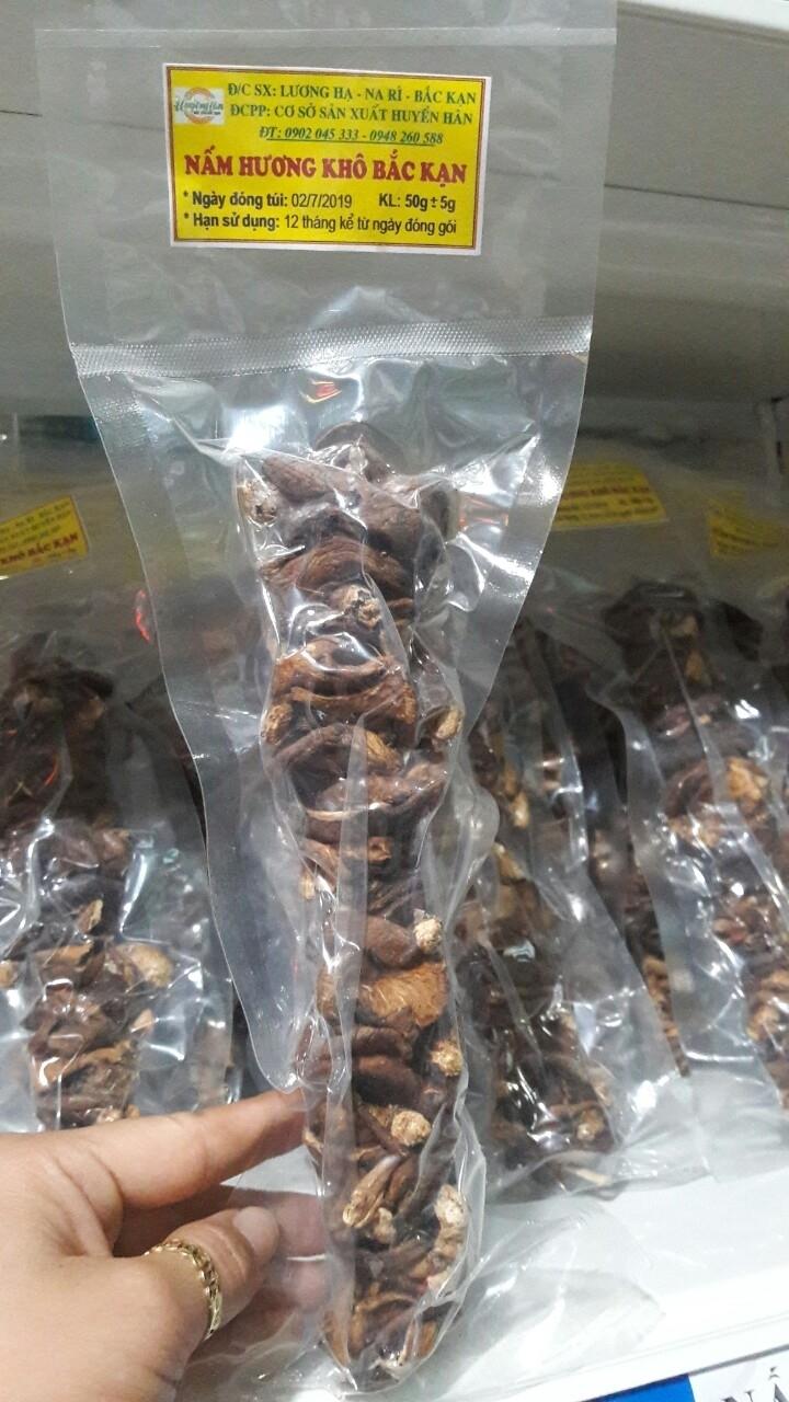 Nấm hương khô Bắc Cạn 50g