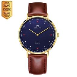 Đồng hồ nam SENARO Classic Every Time 66017G.GSZ - Thương hiệu Nhật Bản chính hãng