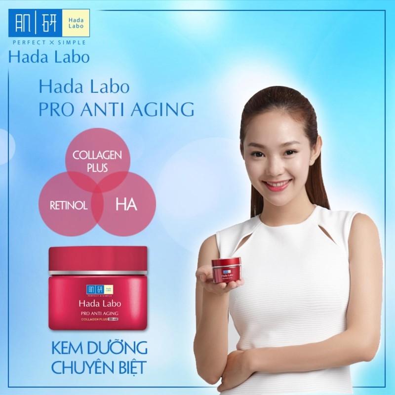 Kem dưỡng chuyên biệt chống lão hóa Hada Labo Pro Anti Aging Cream 50g -  P161074   Sàn thương mại điện tử của khách hàng Viettelpost