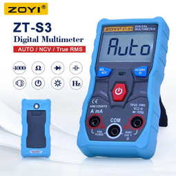 Đồng hồ đo điện tự động đa năng ZOYI ZT-S3 (True RMS / bản nâng cấp có đo pin, điện dung, tần số)