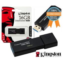 Usb Kingston 16Gb 3.0 DT100G3 Hàng chính hãng bảo hành 5 năm