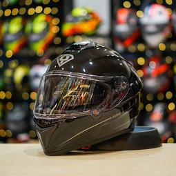 Mũ bảo hiểm Yohe 981 đen bóng [Size M]