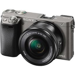 Máy ảnh Mirrorless Sony Alpha A6000 Kit 16-50mm Đen - Hàng chính hãng (Tặng kèm thẻ 16GB + Túi)