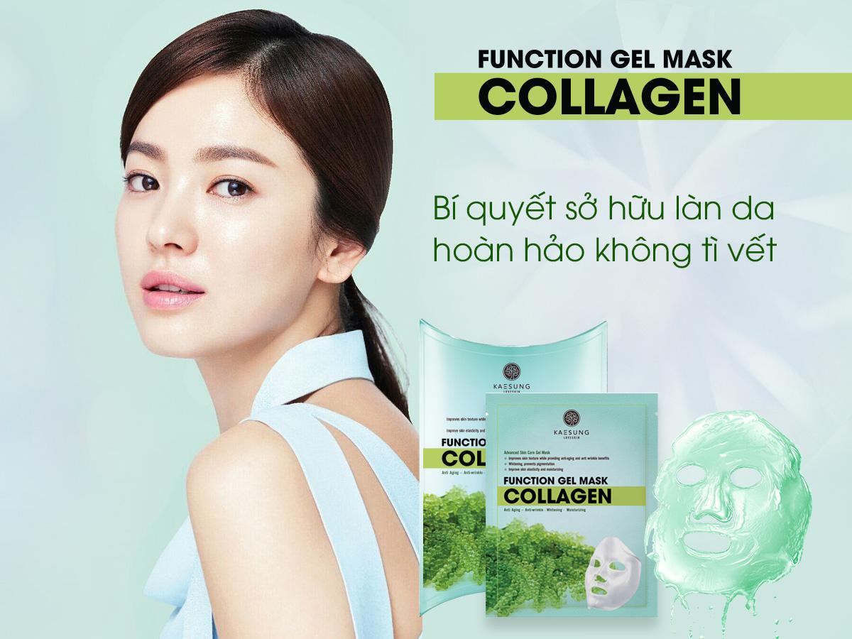 Function Gel Mask Colagen - Mặt Nạ Colagen
