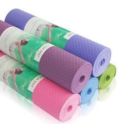 Thảm tập Yoga TPE 2 lớp đẹp, bền, co giản, đàn hồi chống thấm nước tốt - Tâm An shop