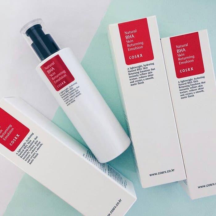 SỮA DƯỠNG COSRX Natural BHA Skin Returning Emulsion