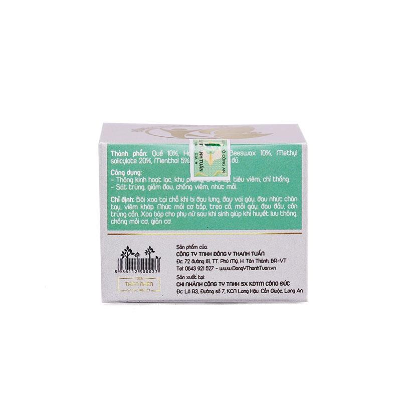 Combo 2 hộp kem Xoa Bóp Thanh Tuấn giúp giảm đau nhức xương khớp