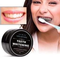 30g Bột Trắng Răng Than Hoạt Tính Teeth whitening chống mùi hôi răng miệng, giúp răng chắc khỏe(có hộp giấy+ tem chống giả).